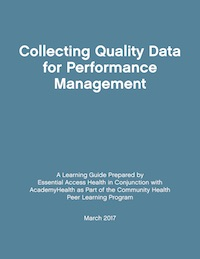 Collecting Quality Data Learning Guide Cover