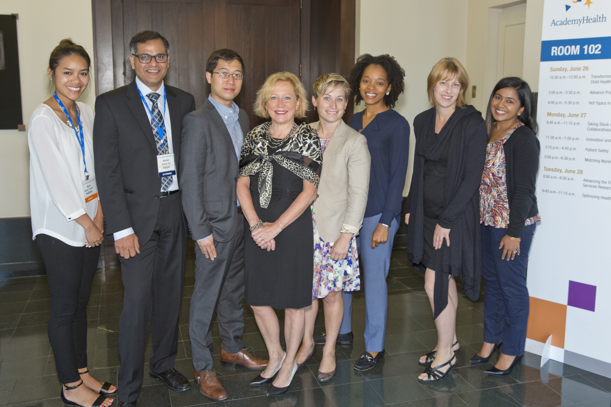 2015 dssf fellows group photo with academyhealth staff at the annual research meeting