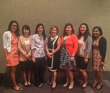 2015 dssf fellows group photo with AcademyHealth staff
