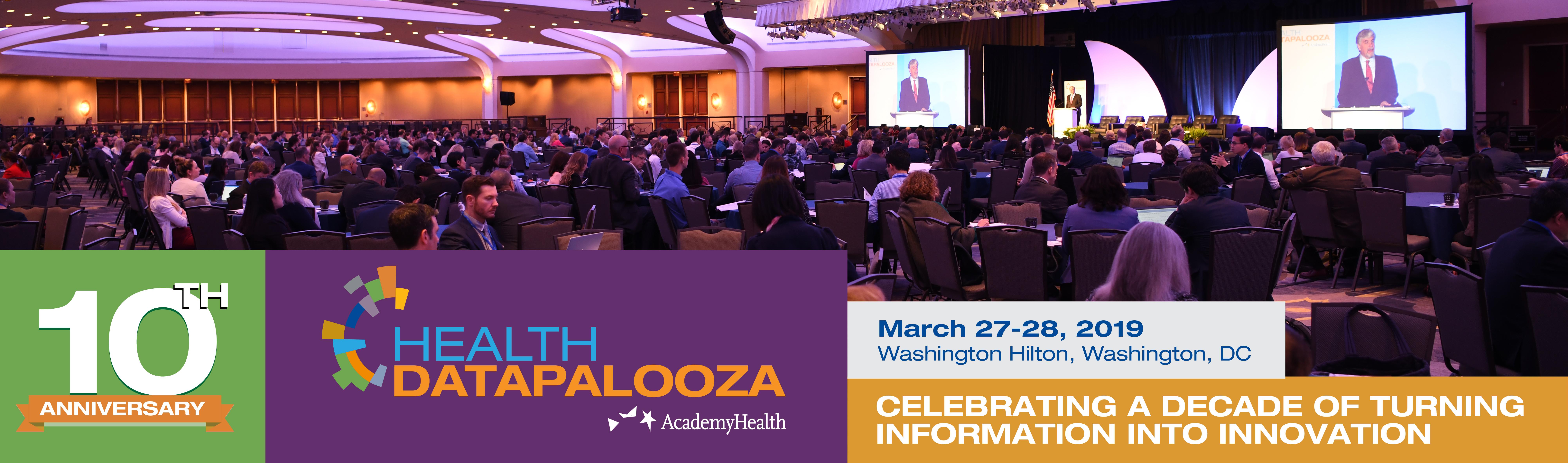 2019 Health Datapalooza   AcademyHealth