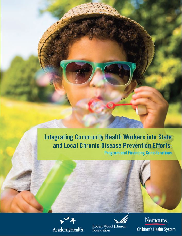 Integrating Community Health Workers into State and Local Chronic Disease Prevention Efforts