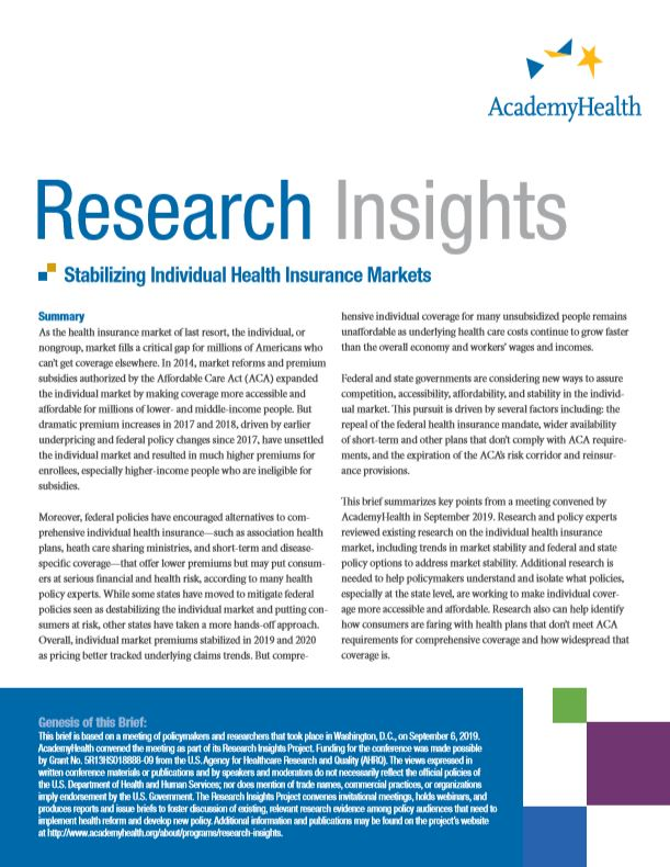 research insights cover