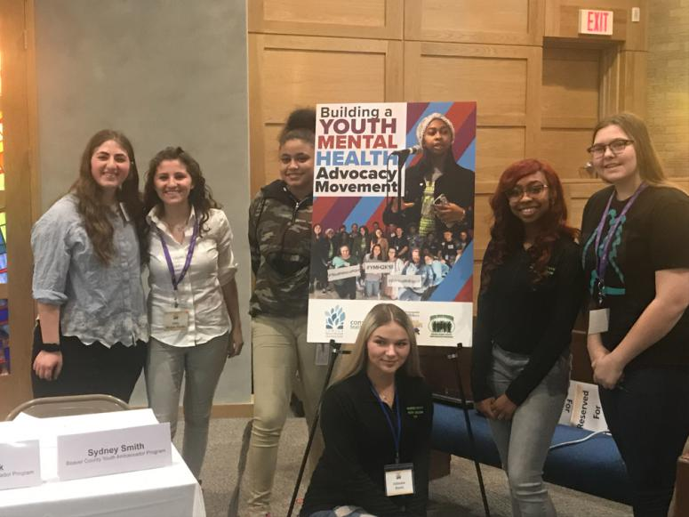 "Students presenting ""Igniting a Youth Advocacy Movement"" at State Rep. Dan Miller's Disability and Mental Health Summit on March 14"