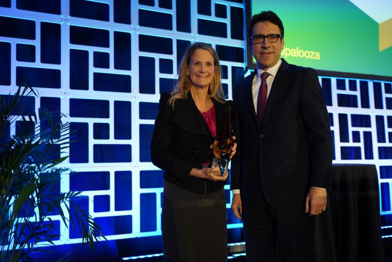 Health Data Impact Award winner