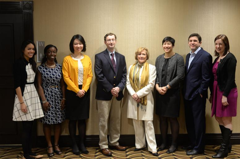 2015 New Investigators, NISGP partners, and AcademyHealth NISGP staff at the 2015 National Health Policy Conference in Washington, D.C.