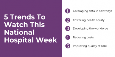 5 Trends to Watch this #NationalHospitalWeek