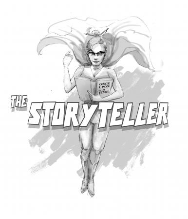 The Storytelling Superhero