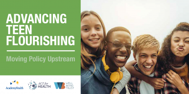 Advancing Teen Flourishing – Time to Invest