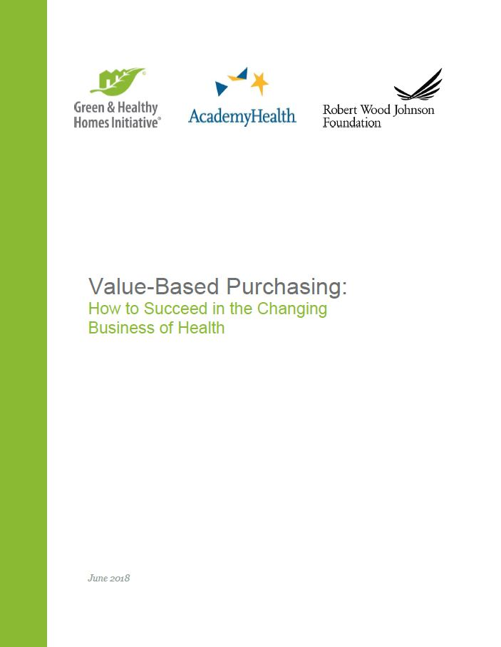 Value-Based Purchasing: How to Succeed in the Changing Business of Health